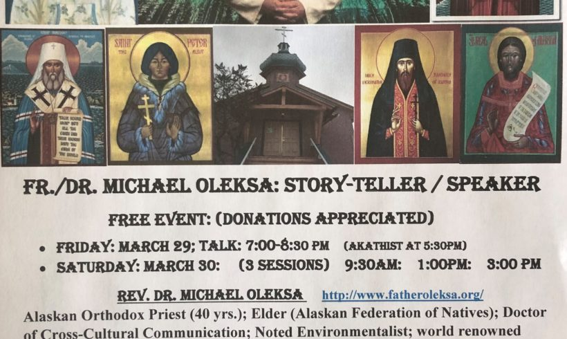Fr. Michael Oleska: Speaking in Cranbrook 2019