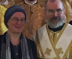 Dn Paul and Mattka Anastasia Bartlett at ordination