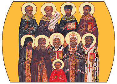 Sunday of the Saints of North America-Divine Liturgy served in church